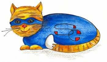 do you have a cat superhero