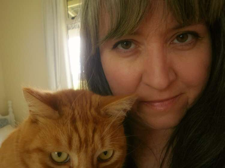 Liz and Noogs cat selfie